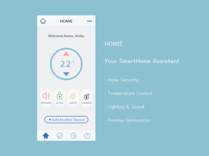 Daily UI  Design Challenge 21: Home Monitoring Dashboard uidesign appdesign dashboard simple iot smarthome minimal adobexd calm app 100 day challenge ux ui design dailyui
