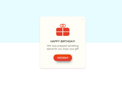 Daily UI 36: Special Offer
