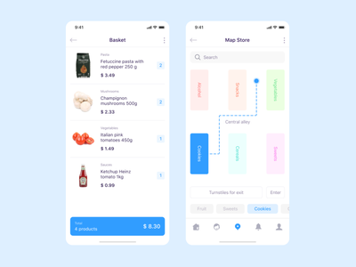 Handy Shop clean ui clear design clear shopping app shopping store app store mobile app top popular interface ux ui dribbble design