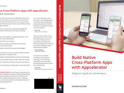 Build Native Cross-Platform Apps Book Cover book cover book cover