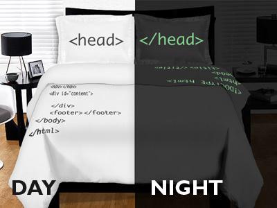 HTML Geek critique competition threadless code html geek html geek duvet bed pillow pillow case