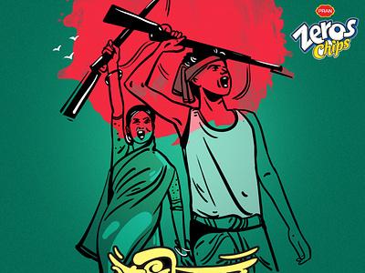 independence day of bangladesh designer vector design drawing delowarripon digitalart sketchart cgwork illustration delowarriponcreation independence day of bangladesh