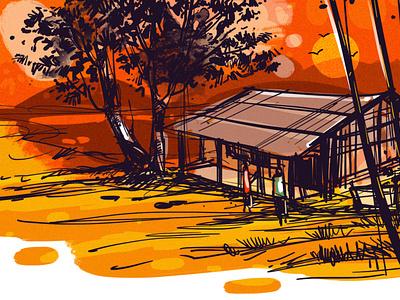 Digital Painting I Sketch I Drawing delowar ripon design sketchart branding drawing cgwork delowarripon digitalart illustration delowarriponcreation