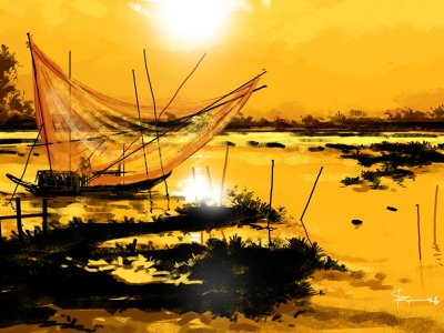 Digital Paiting By Delowar Ripon logo ui branding drawing digitalart design cgwork sketchart illustration delowarriponcreation bangladeshi water color painting bangladeshi artist bangladeshi painting delowar ripon digital art digital paiting by delowar ripon