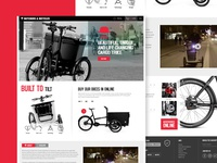 Butchers & Bicycle website redesign thouts