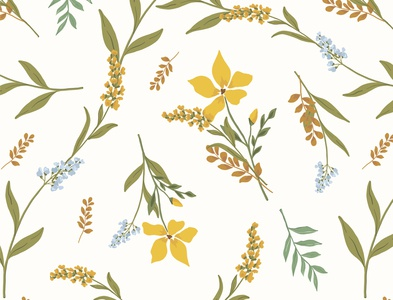 Floral Vector Pattern Design