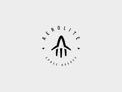Aerolite space agency logo