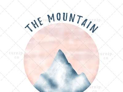 The Mountain Is Calling PNG Sublimation Graphic Clipart