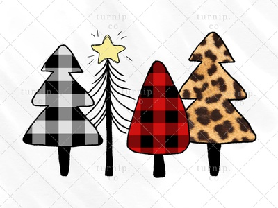 Christmas Tree Sublimation Clipart PNG Graphic Design X sublimation clipart cute clipart christmas tree clipart christmas clipart cute branding illustration clipart design art turnip