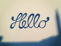 Handlettering: First Try!