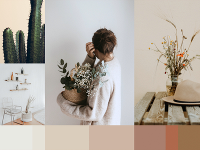 Simply Placed Moodboard inviting warm serene tranquil boho home decor moodboard