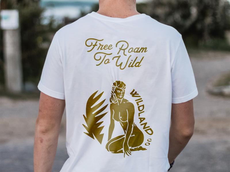 Wildland Tee surf vintage free wild roam merch tshirt wildland