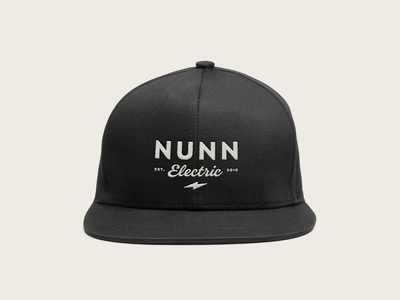 Nunn Snapback Cap swag vintage hat cap bolts collateral electrician