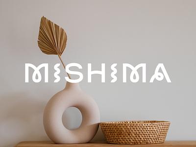 Mishima mishima ceramics pottery mark logo brand branding typography
