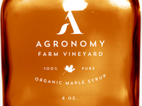Agronomy Syrup Label