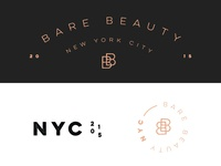 Bare Beauty Logo Variations