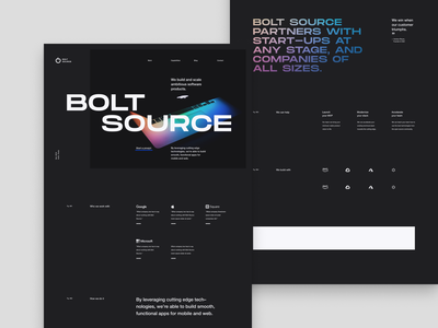 Reject 002 - Another Landing Page ui branding minimal marketing landing page design layout tyography website web