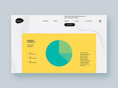 Slidebean - Homepage (3 of 3) technology tech ui ux animation interactive branding brand marketing typography layout design website web