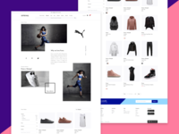 Brand Page Concept 01