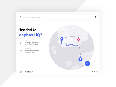 Mapbox Turn by Turn Navigation 🚙 - Full Route navigation turn by turn directions mapping map ui maps car app automotive car auto ui design animation ios app