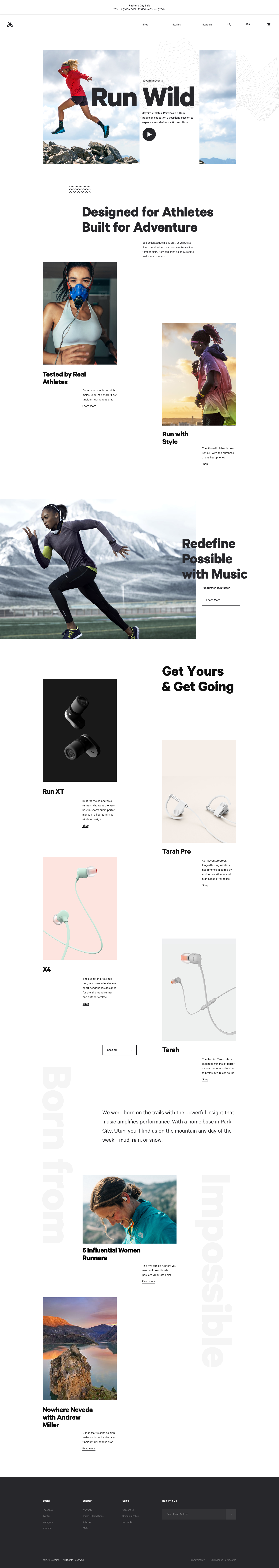 Homepage full   evol