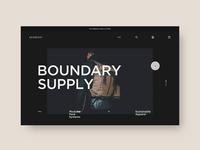 Boundary Supply 🎒 - Homepage