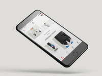 Spring App 3.0 🛍 - Feed 004 / 004 ecom shopping interactive e-commerce ecommerce fashion animation ux ui design ios mobile app mobile app application
