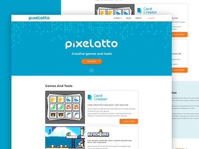 Pixelatto website design illustration minimal web website ux ui perfectorium design