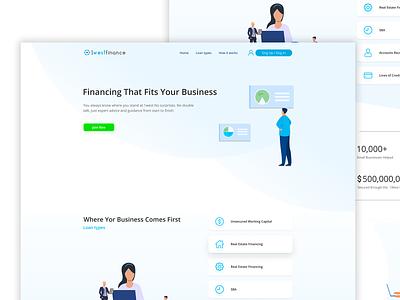 1 West Finance website design illustrator illustration graphic design branding web ui website ux perfectorium design