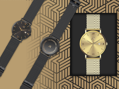 Watches render graphicdesign graphic watches minimal vector illustration perfectorium design