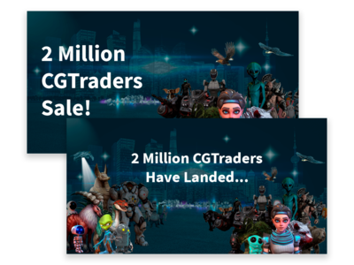 CG Trader Banners