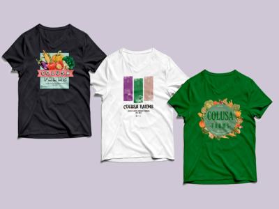 Colusa Farms T-shirt design