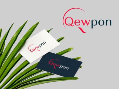 Qewpon logo design