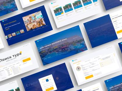 Koleso-F travel agency website
