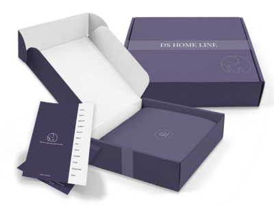 DS HOME LINE package design