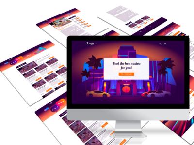 Casino theme design v1
