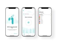 Ui Mobile app Freeman VPN