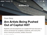 Mobile article