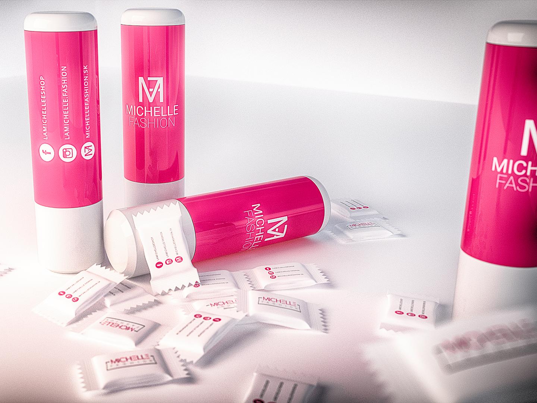 Lip balm & chewing gum design by Dominik Majo on Dribbble