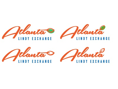 Atlanta Lindy Exchange dance swing logo atlx lindy hop atlanta retro