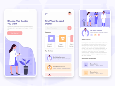 Doctor App ( FREE SOURCE )