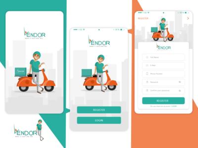 Vendor App ' FREE SOURCE '