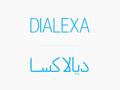 Dialexa arabic