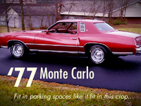 My First Car - '77 Monte Carlo
