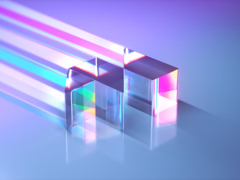 Shared Colors octane cinema4d logo icon framer x framer design branding 3d