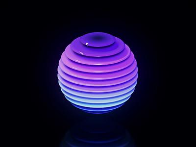 Design with radial gradients design cinema4d animation branding 3d app framer x framer