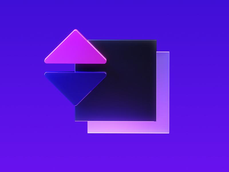 Framer Learn - Iconography 2 logo octane illustration icon cinema4d framer x framer design branding 3d
