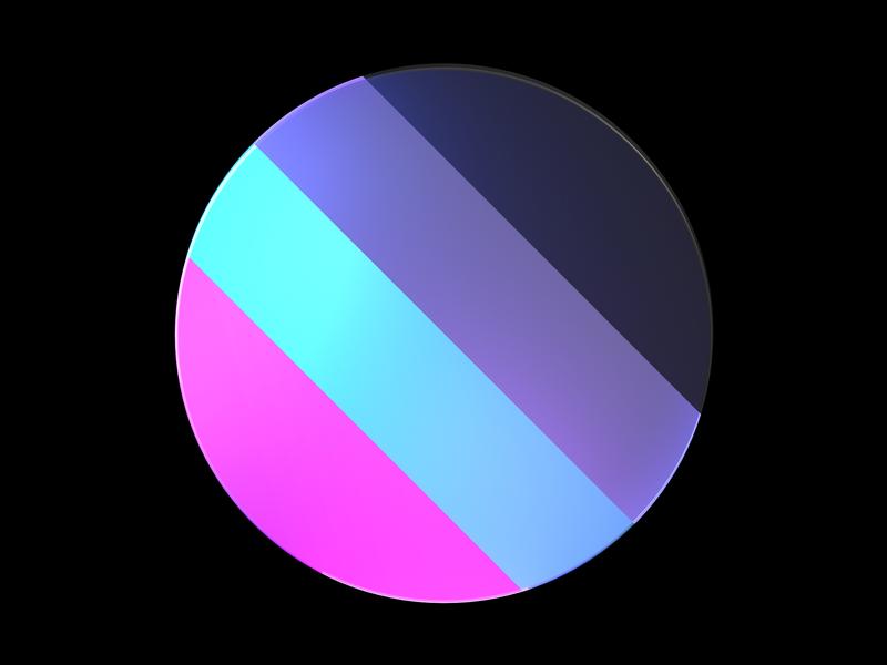 Framer Learn - Colors and Materials logo octane illustration icon cinema4d framer x framer design branding 3d