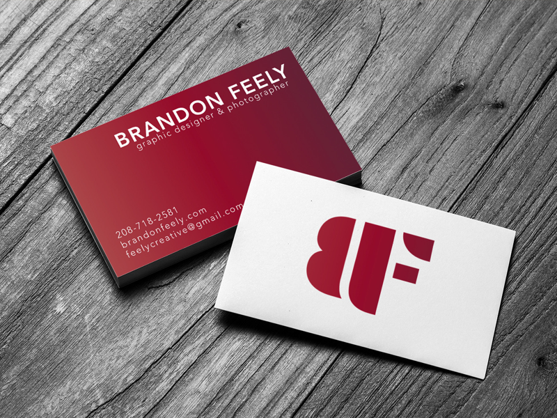 Personal Branding Business Card Seattle Hire Me Cards