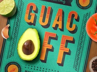 Match MG Guac Off Poster Snippet